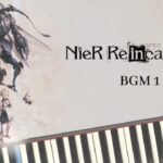 NieR Re[in]carnation – BGM 1 [Piano Cover] [Synthesia] ニーア リィンカーネーション (C=528Hz)
