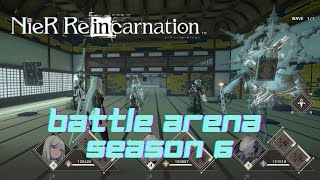 Nier Re[in]carnation JP – Very Hard Competition, Battle Arena Season 6